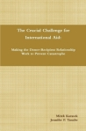 The Crucial Challenge for International Aid