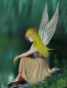 Tree Fairy A by Yuichi Tanabe